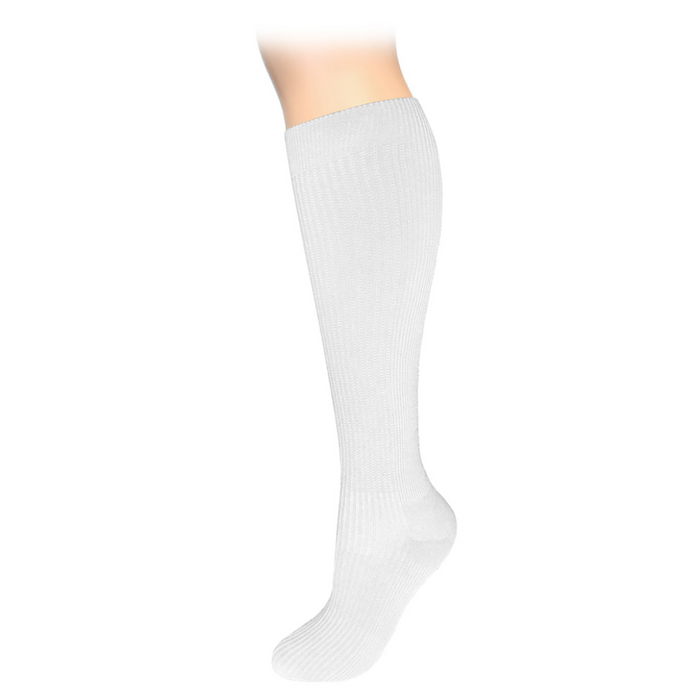 Prestige large calf compression socks Prestige large calf compression socks White