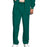 Cherokee Workwear 4000 Scrubs Pants Men's Drawstring Cargo Hunter Green