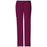 Cherokee Workwear Core Stretch 4044 Scrubs Pants Women's Mid Rise Drawstring Cargo Wine