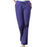 Cherokee Workwear 4101 Scrubs Pants Women's Natural Rise Flare Leg Drawstring Grape