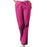 Cherokee Workwear 4101 Scrubs Pants Women's Natural Rise Flare Leg Drawstring Raspberry