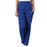 Cherokee Workwear 4200 Scrubs Pants Women's Natural Rise Tapered Pull-On Cargo Galaxy Blue