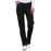 Cherokee Workwear Core Stretch 4203 Scrubs Pants Women's Mid Rise Straight Leg Drawstring Black