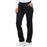 Cherokee Workwear Core Stretch 4203 Scrubs Pants Women's Mid Rise Straight Leg Drawstring Black L