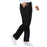 Cherokee Workwear Core Stretch 4203 Scrubs Pants Women's Mid Rise Straight Leg Drawstring Black M