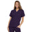 Cherokee Workwear 4700 Scrubs Top Women's V-Neck Eggplant