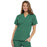 Cherokee Workwear 4700 Scrubs Top Women's V-Neck Surgical Green