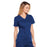 Cherokee Core Stretch 4710 Scrubs Top Women's V-Neck Navy L