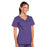 Cherokee Core Stretch 4727 Scrubs Top Women's V-Neck Grape L