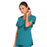 Cherokee Core Stretch 4727 Scrubs Top Women's V-Neck Teal Blue 4XL