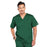 Cherokee Core Stretch 4743 Scrubs Top Men's V-Neck Hunter Green