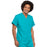 Cherokee Workwear 4777 Scrubs Top Unisex V-Neck Tunic. Turquoise 4XL