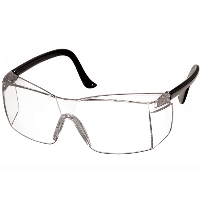 Prestige Colored Temple Safety Glasses Black