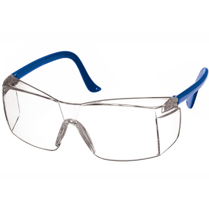 Prestige Colored Temple Safety Glasses Royal