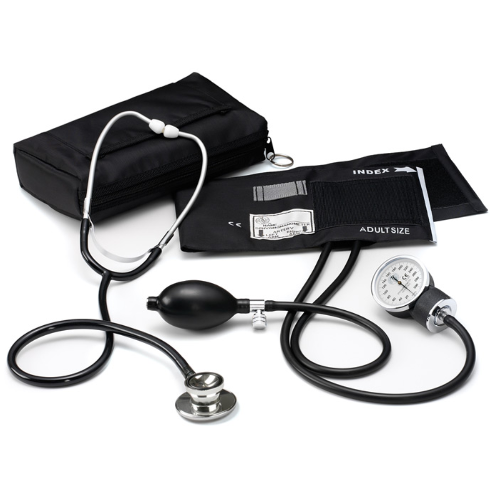 Prestige Basic Aneroid Sphygmomanometer / Dual Head Kit