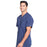 Cherokee Infinity CK910A Scrubs Top Men's V-Neck Navy 4XL