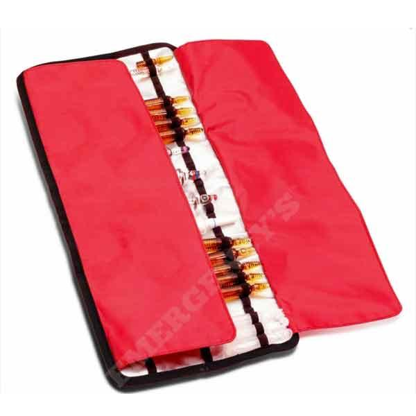 Emergency's Foldable Ampoule Holder Red