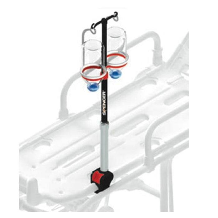 Spencer Track 5 Telescopic IV Pole for Basket Stretchers