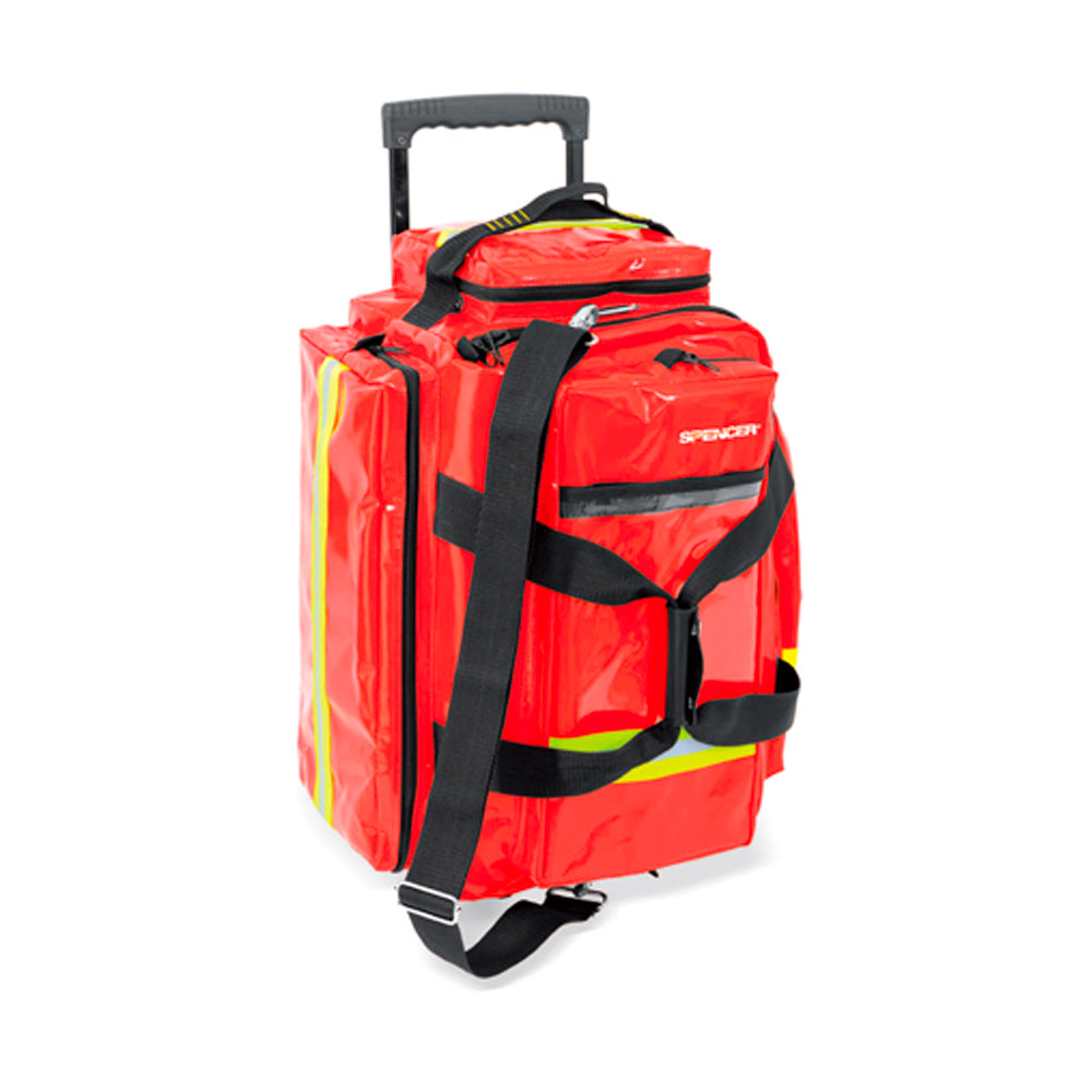 Spencer R-AID Trolley Pro Red PVC with Pouches