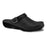 Sanita Carbon Wave Leather Clogs with Open Heel