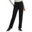 Cherokee Workwear Revolution WW105 Scrubs Pants Women's Mid Rise Tapered Leg Drawstring Black