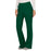 Cherokee Workwear Revolution WW110 Scrubs Pants Women's Mid Rise Straight Leg Pull-on Hunter Green 4XL