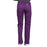 Cherokee Core Stretch WW130 Scrubs Pants Women's Mid Rise Straight Leg Drawstring Eggplant 3XL