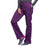 Cherokee Core Stretch WW130 Scrubs Pants Women's Mid Rise Straight Leg Drawstring Eggplant 4XL