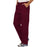 Cherokee Workwear Revolution WW140 Scrubs Pants Men's Fly Front Wine 4XL