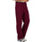 Cherokee Workwear Revolution WW140 Scrubs Pants Men's Fly Front Wine 5XL