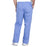 Cherokee Workwear Professionals WW190 Scrubs Pants Men's Tapered Leg Drawstring Cargo Ciel Blue 3XL