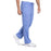 Cherokee Workwear Professionals WW190 Scrubs Pants Men's Tapered Leg Drawstring Cargo Ciel Blue 5XL