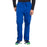 Cherokee Workwear Professionals WW190 Scrubs Pants Men's Tapered Leg Drawstring Cargo Galaxy Blue