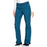 Cherokee Workwear WW210 Scrubs Pants Women's Mid Rise Straight Leg Pull-on Cargo Caribbean Blue 4XL