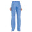 Cherokee Workwear WW210 Scrubs Pants Women's Mid Rise Straight Leg Pull-on Cargo Ciel Blue 3XL