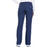 Cherokee Workwear WW210 Scrubs Pants Women's Mid Rise Straight Leg Pull-on Cargo Navy 3XL