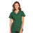 Cherokee Workwear WW645 Scrubs Top Women's V-Neck Hunter Green
