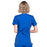 Cherokee Workwear WW650 Scrubs Top Women's Mock Wrap Galaxy Blue 3XL
