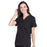 Cherokee Workwear Professionals WW665 Scrubs Top Women's V-Neck Black 4XL