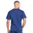 Cherokee Workwear Professionals WW675 Scrubs Top Men's V-Neck Navy 3XL