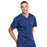 Cherokee Workwear Professionals WW675 Scrubs Top Men's V-Neck Navy 5XL