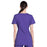 Cherokee Workwear Professionals WW685 Scrubs Top Maternity Mock Wrap Grape 3XL