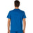 Cherokee Workwear Revolution WW690 Scrubs Top Men's V-Neck Royal 3XL