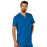 Cherokee Workwear Revolution WW690 Scrubs Top Men's V-Neck Royal 4XL
