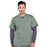 Cherokee Workwear Professionals WW695 Scrubs Top Men's V-Neck Olive