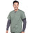 Cherokee Workwear Professionals WW695 Scrubs Top Men's V-Neck Olive 4XL