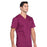 Cherokee Workwear Professionals WW695 Scrubs Top Men's V-Neck Wine 5XL