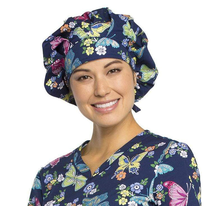Cherokee Scrub Hats Try Out Your Wings Cherokee CK501 Bouffant Scrubs Hats