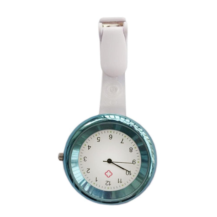 Medshop Watches Blue Clip Nursing FOB Watch