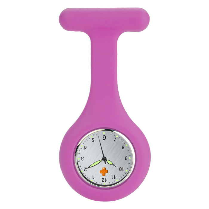 Silicone Nursing FOB Watch Pink